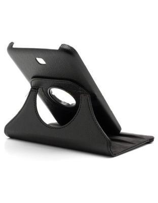 Samsung Galaxy Tab 3 7.0 (T210) 360º draaibare tablethoes Zwart