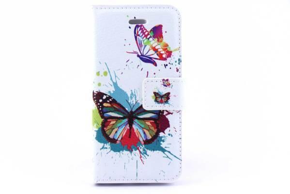 iPhone 5 (S) & C & SE bookcase Vlinders
