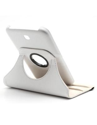 Samsung Galaxy Tab 3 7.0 (T210) 360º draaibare tablethoes Wit
