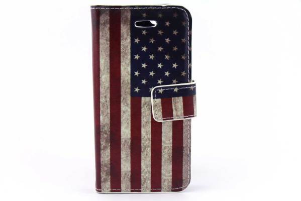 iPhone 5 (S) & C & SE bookcase Amerika