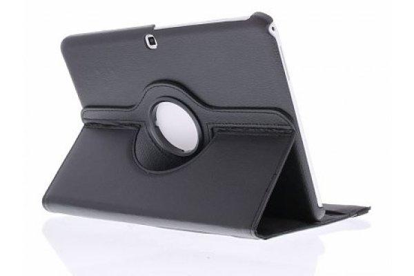 Samsung Galaxy Tab 4 10.1 (T530) 360º draaibare tablethoes Zwart