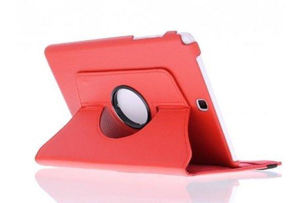 Samsung Galaxy Tab A 9.7 (T550) 360º draaibare tablethoes Rood