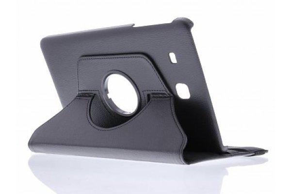 Samsung Galaxy Tab E 9.6 (T560) 360º draaibare tablethoes Zwart
