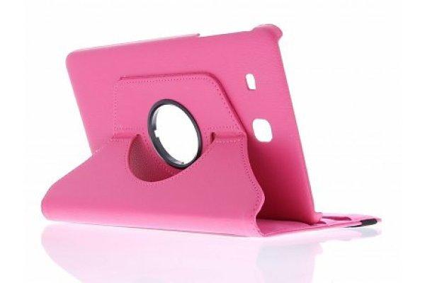 Samsung Galaxy Tab E 9.6 (T560) 360º draaibare tablethoes Roze