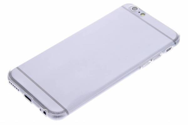 iPhone 6 (s) TPU hoesje Transparant
