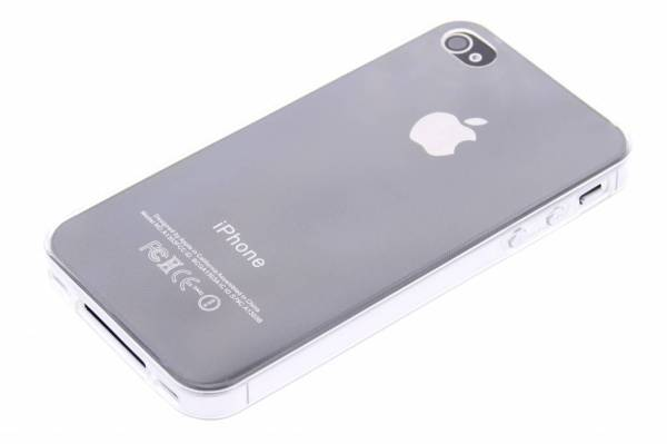 iPhone 4 (s) TPU hoesje Transparant