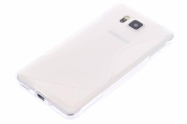 Samsung Galaxy Alpha TPU hoesje Transparant