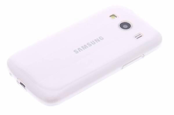 Samsung Galaxy Ace 4 TPU hoesje Transparant