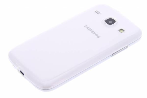 Samsung Galaxy Core TPU hoesje Transparant