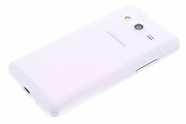 Samsung Galaxy Core 2 TPU hoesje Transparant