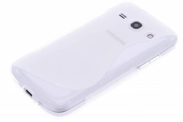 Samsung Galaxy Core Plus TPU hoesje Transparant