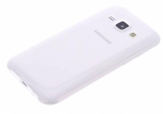 Samsung Galaxy J1 TPU hoesje Transparant
