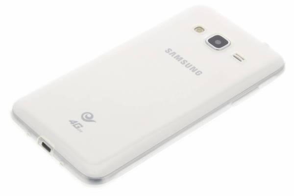 Samsung Galaxy J3 TPU hoesje Transparant