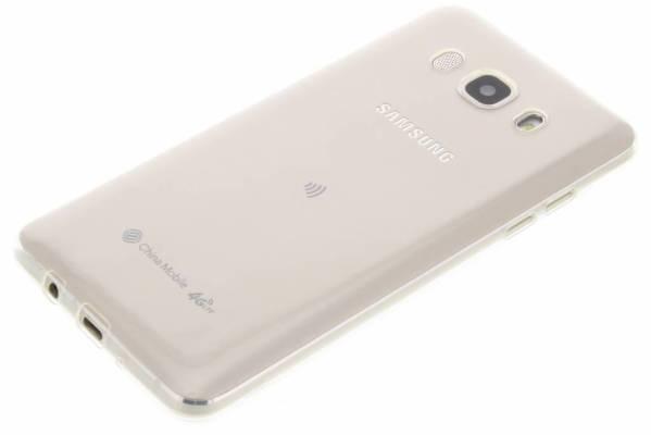 Samsung Galaxy J5 (2016) TPU hoesje Transparant