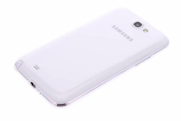 Samsung Galaxy Note 2 TPU hoesje Transparant