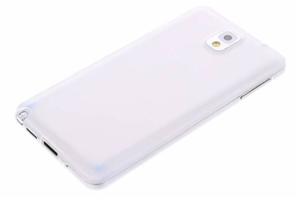 Samsung Galaxy Note 3 TPU hoesje Transparant