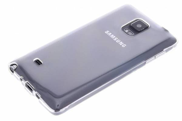 Samsung Galaxy Note 4 TPU hoesje Transparant