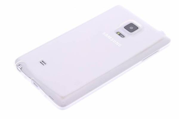 Samsung Galaxy Note 4 Edge TPU hoesje Transparant