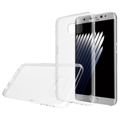 Samsung Galaxy Note 7 TPU hoesje Transparant