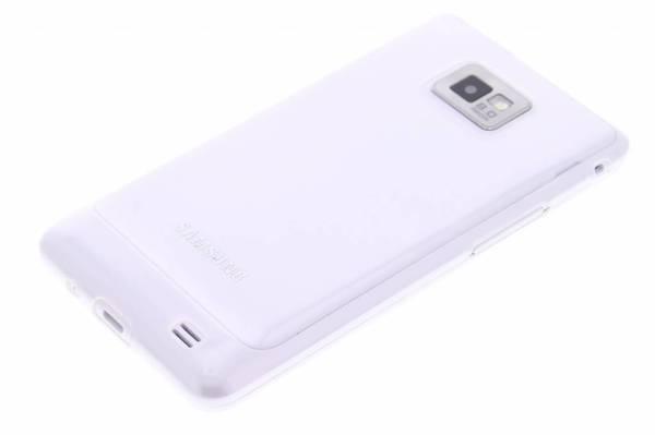 Samsung Galaxy S2 TPU hoesje Transparant