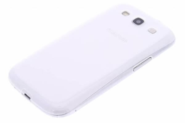Samsung Galaxy S3 TPU hoesje Transparant